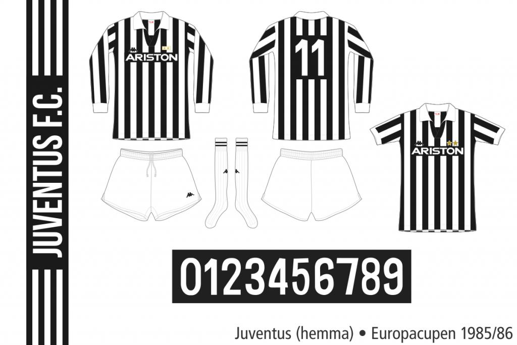 Juventus 1985/86 (Europacupen hemma)