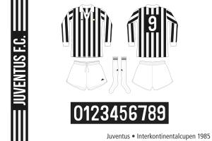 Juventus 1985/86 (Interkontinentalcupen)