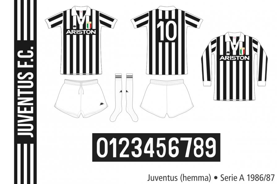 Juventus 1986/87 (hemma)
