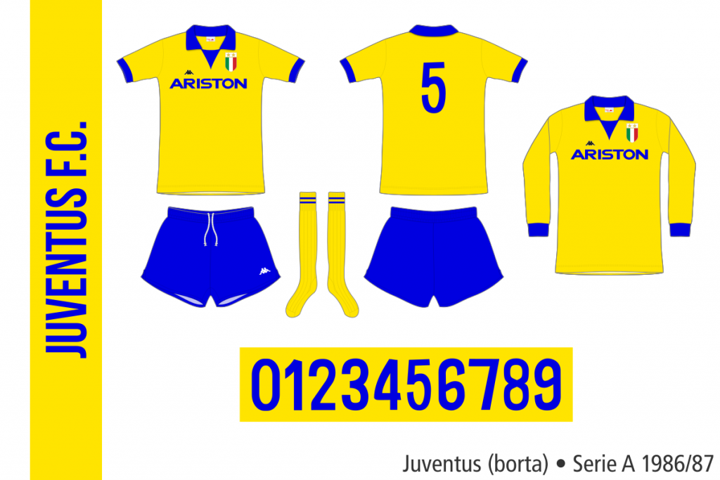 Juventus 1986/87 (borta)