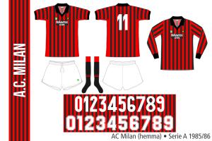 AC Milan 1985/86 (hemma)