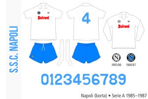 Napoli 1985–1987 (borta)