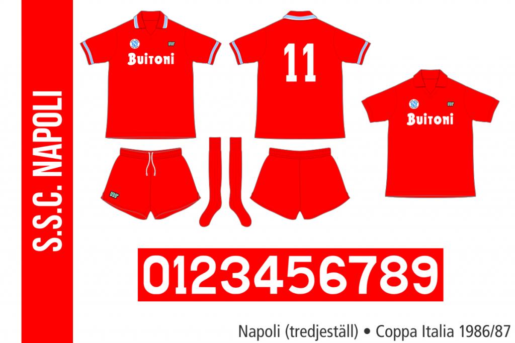 Napoli 1986/87 (tredjeställ)