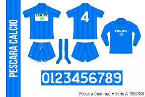 Pescara 1987/88 (hemma)
