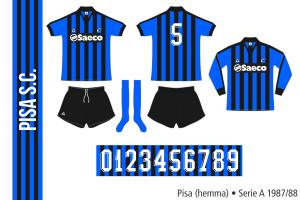 Pisa 1987/88 (hemma)