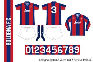 Bologna 1988/89 (hemma våren 89)