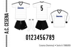 Cesena 1988/89 (hemma)