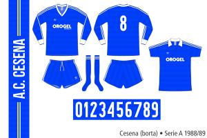 Cesena 1988/89 (borta)