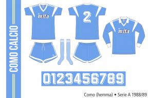 Como 1988/89 (hemma)