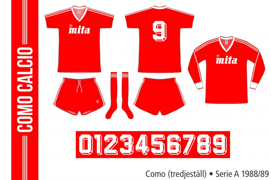 Como 1988/89 (tredjeställ)