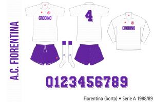 Fiorentina 1988/89 (borta)