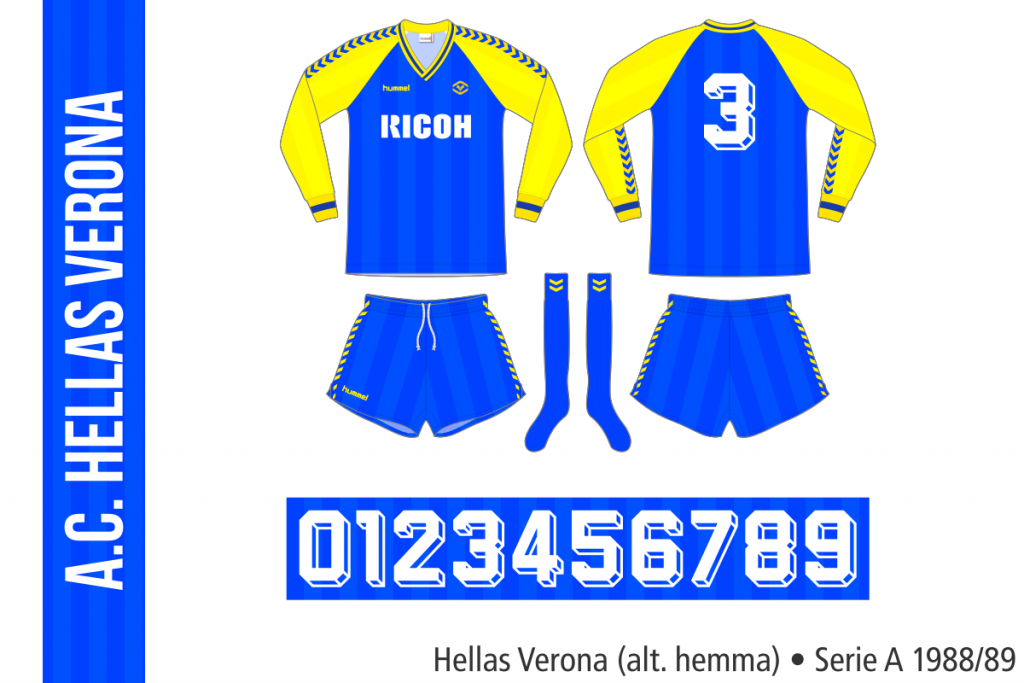 Hellas Verona 1988/89 (alternativ hemma)