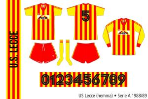 Lecce 1988/89 (hemma)