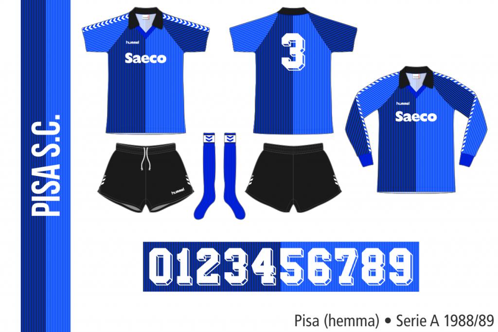 Pisa 1988/89 (hemma)