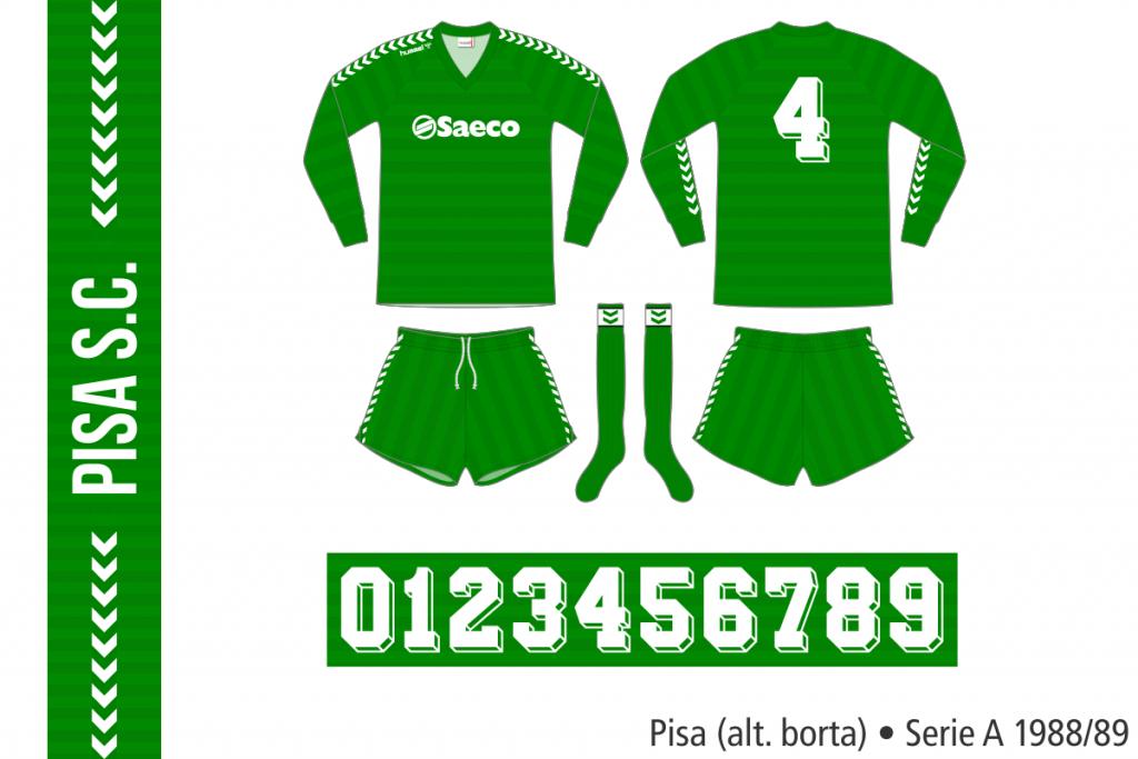 Pisa 1988/89 (alternativ borta)