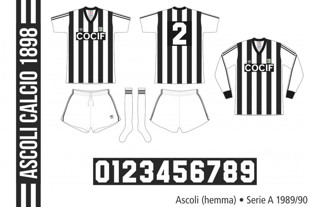 Ascoli 1989/90 (hemma)