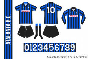 Atalanta 1989/90 (hemma)