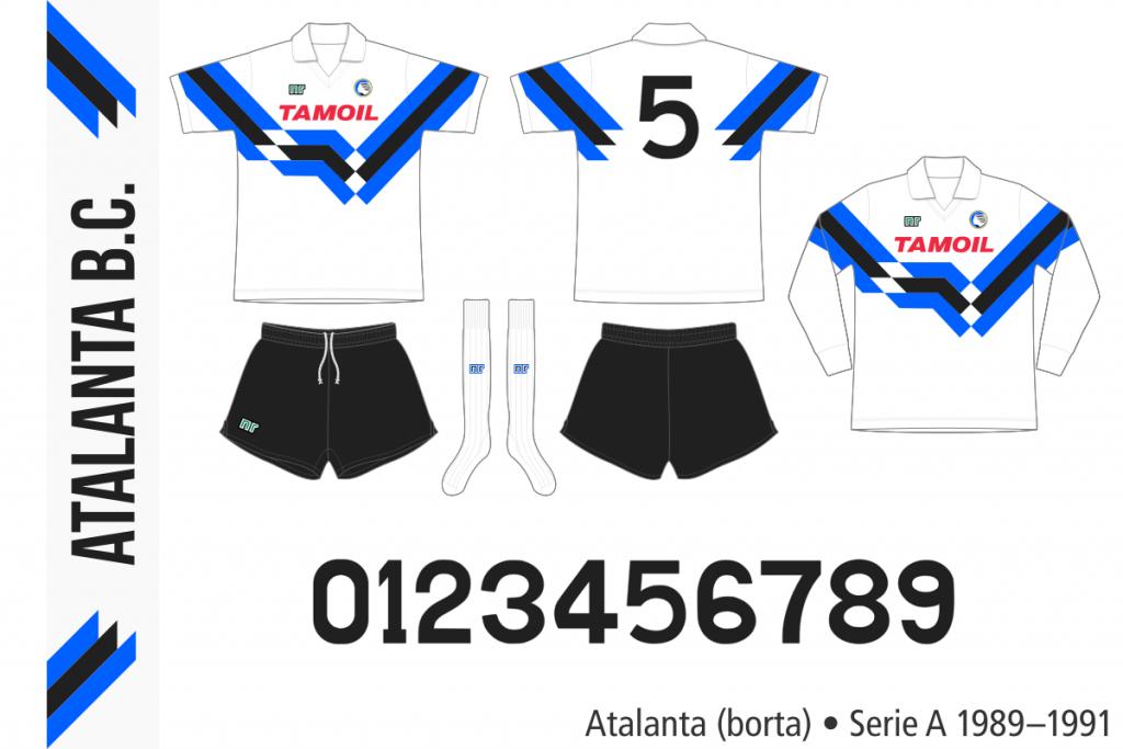 Atalanta 1989–1991 (borta)