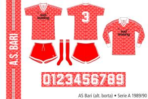 Bari 1989/90 (alternativ borta)