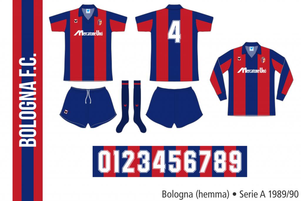 Bologna 1989/90 (hemma)