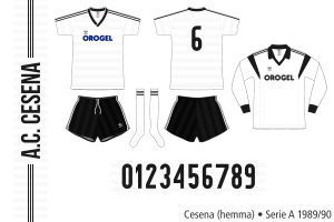 Cesena 1989/90 (hemma)
