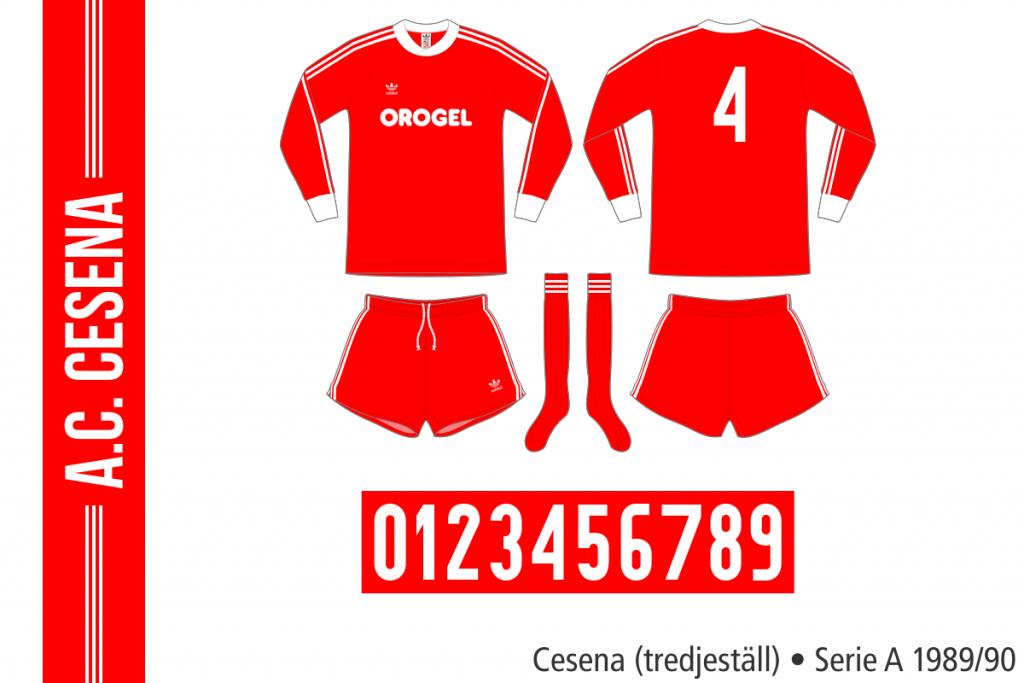 Cesena 1989/90 (tredjeställ)