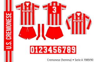 Cremonese 1989/90 (hemma)