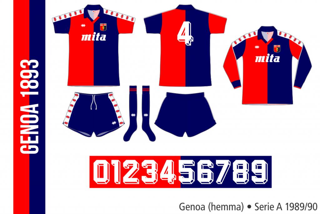 Genoa 1989/90 (hemma)