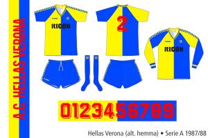 Hellas Verona 1987/88 (alternativ hemma)