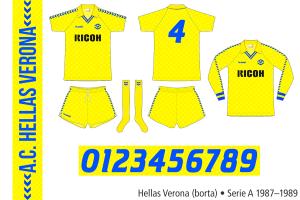 Hellas Verona 1987–1989 (borta)
