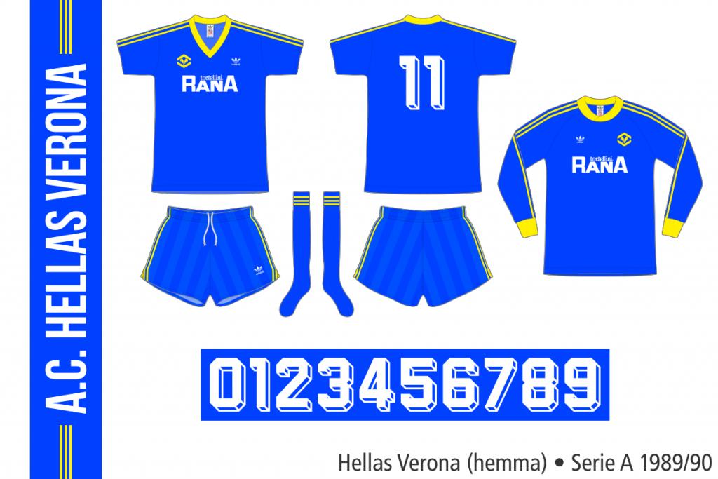 Hellas Verona 1989/90 (hemma)