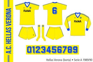 Hellas Verona 1989/90 (borta)
