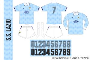 Lazio 1989/90 (hemma)