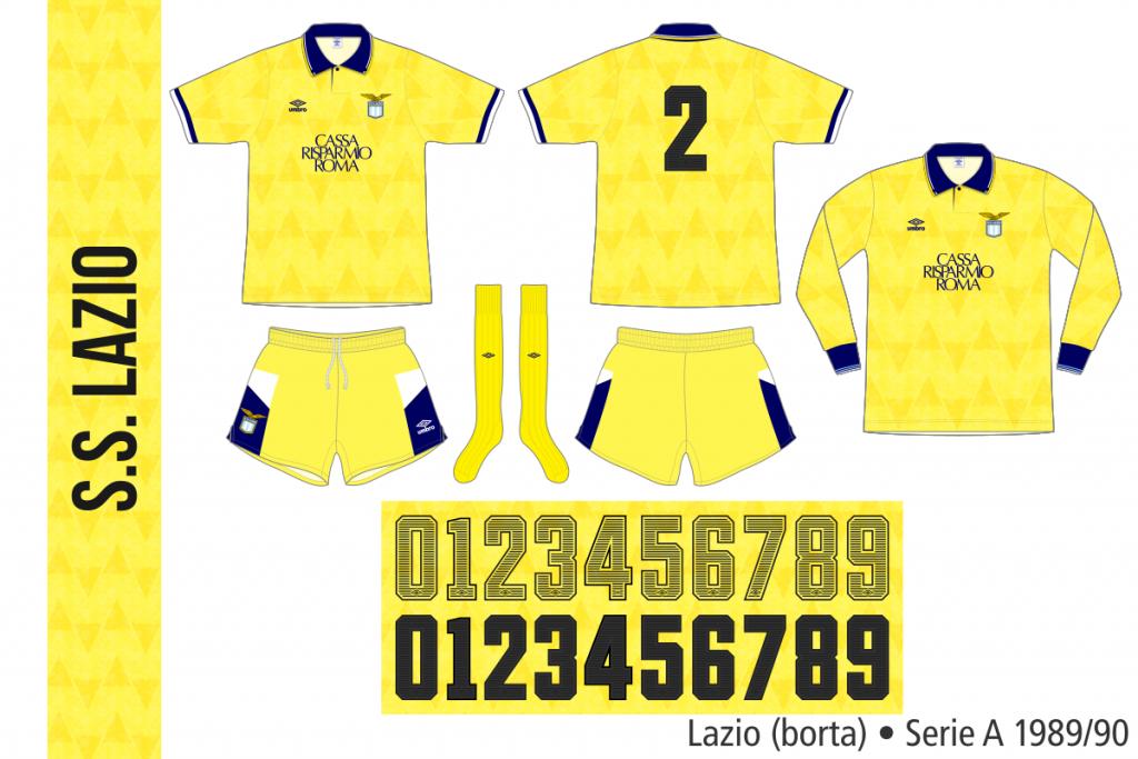 Lazio 1989/90 (borta)
