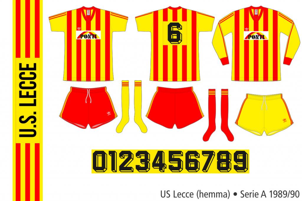 Lecce 1989/90 (hemma)
