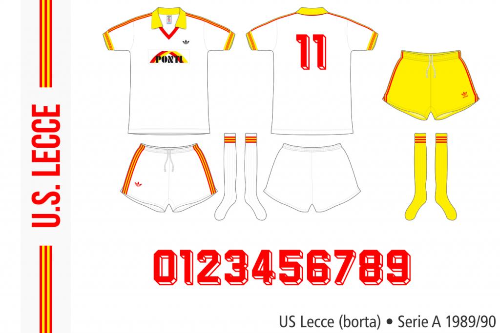 Lecce 1989/90 (borta)