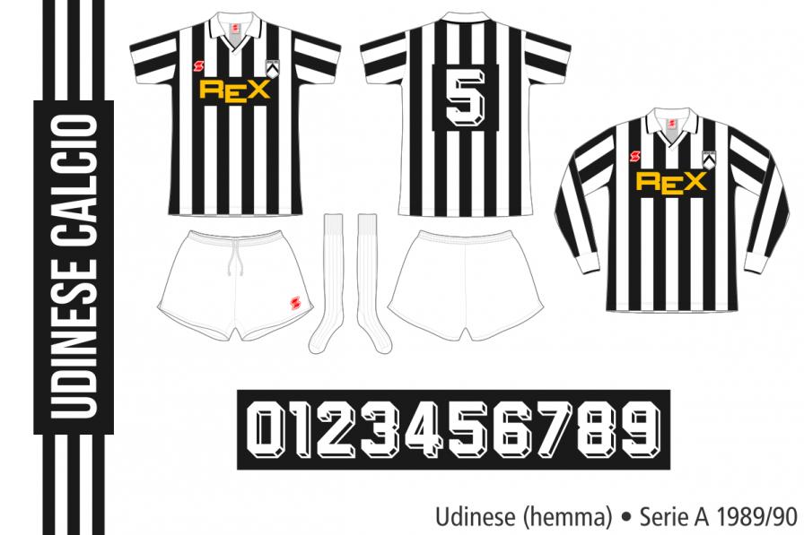 Udinese 1989/90 (hemma)