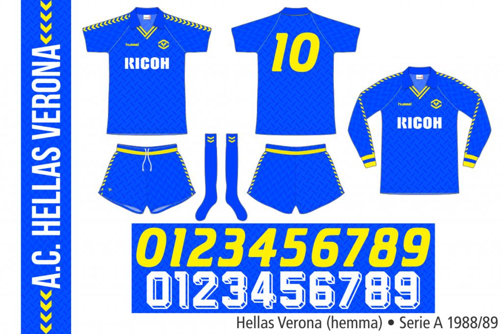 Hellas Verona 1988/89 (hemma)