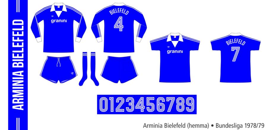 Arminia Bielefeld 1978/79 (hemma)