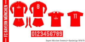 Bayern München 1978/79 (hemma)