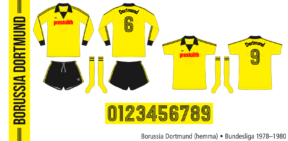 Borussia Dortmund 1978–1980 (hemma)