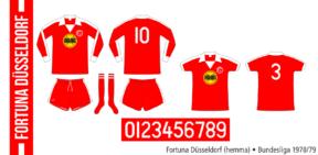 Fortuna Düsseldorf 1978/79 (hemma)