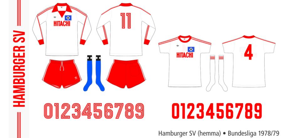Hamburger SV 1978/79 (hemma)