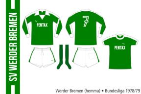 Werder Bremen 1978/79 (hemma)