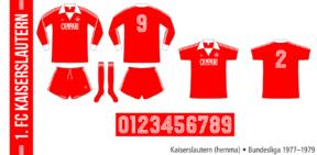 Kaiserslautern 1977–1979 (hemma)
