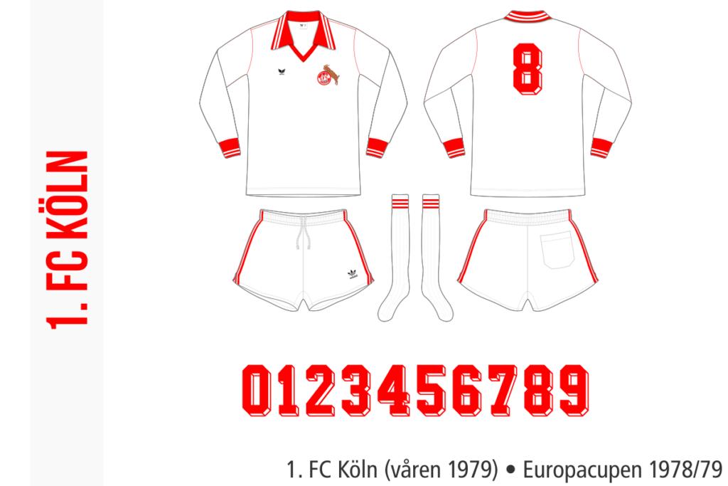 1. FC Köln 1978/79 (Europacupen, våren 1979)