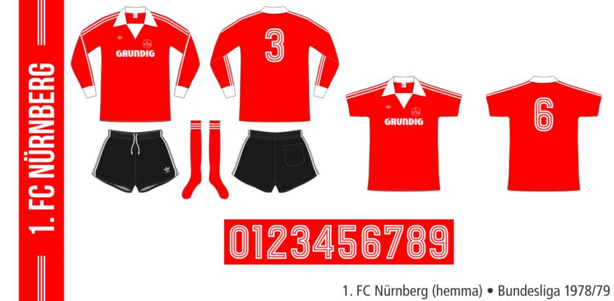 1. FC Nürnberg 1978/79 (hemma)