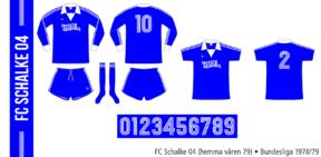 Schalke 04 1978/79 (hemma våren 79)