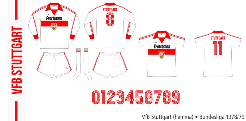 VfB Stuttgart 1978/79 (hemma, Adidas)