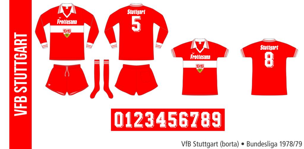 VfB Stuttgart 1978/79 (borta, Erima)